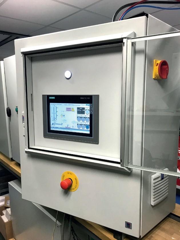Schaltschrank mit Siemens Steuerung von Sodimate