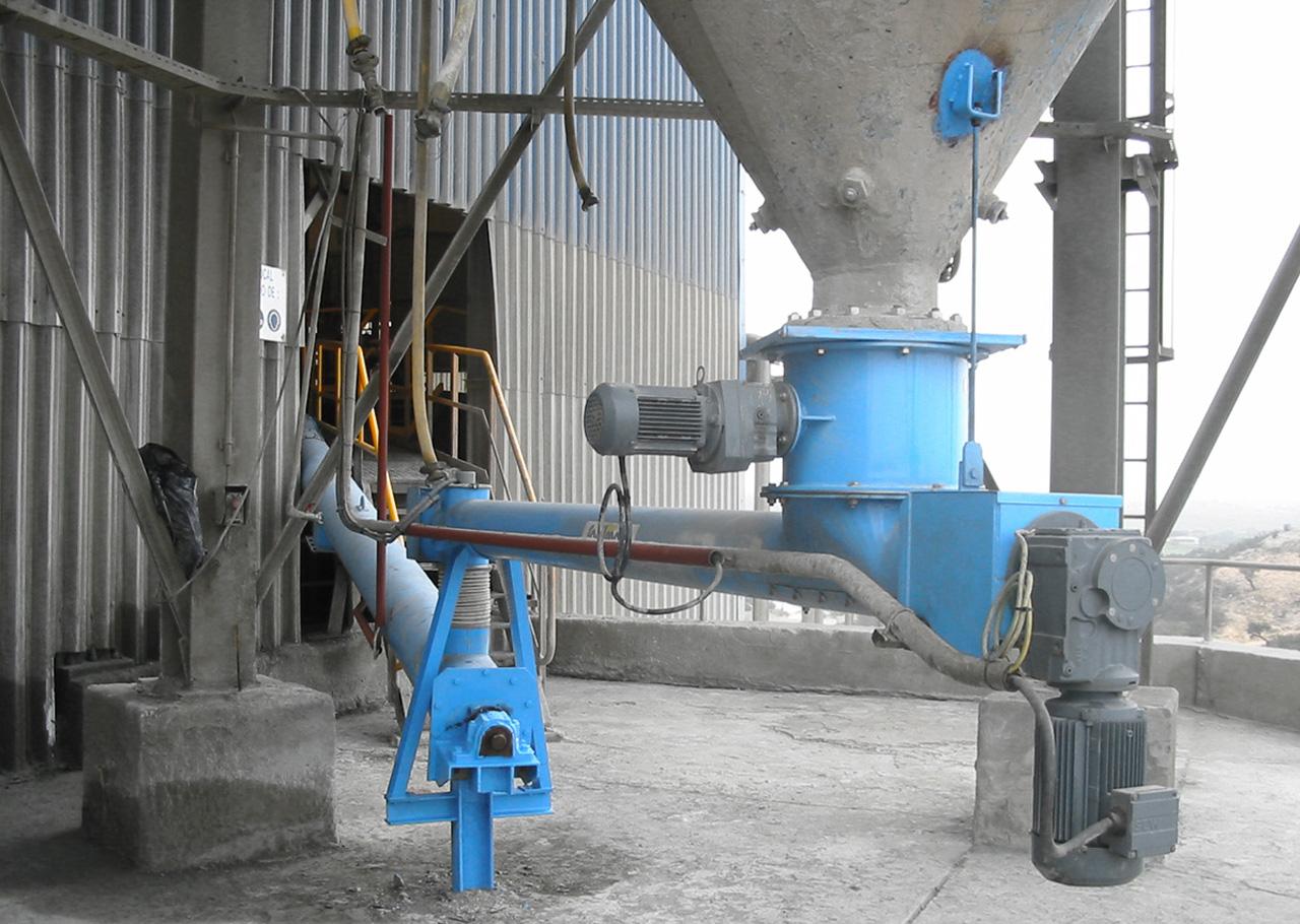 Dosiertechnik für die Zement-Industrie