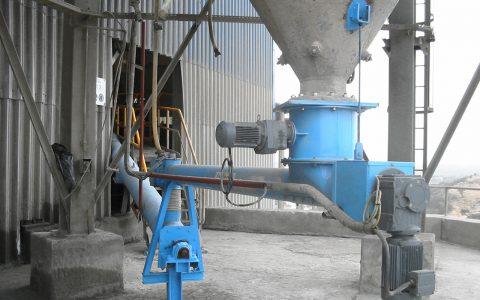 Silo Austrags- und Dosiergerät DS 400 für Zement, Zementförderschnecke