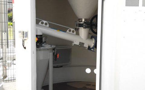 Silo Austrags- und Dosiergerät DDS 400, Feststoff Wasserstrahlpumpe Jurakalk