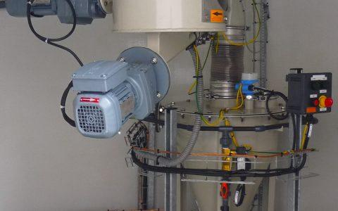 Silo Austrags- und Dosiergerät DDS 400, Feststoff Wasserstrahl Pumpe für