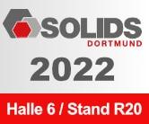 SAVE THE DATE - Die nächste SOLIDS Messe wird vom 16 bis 17. Februar 2022 in Dortmund stattfinden und erneut wird sich Sodimate als Aussteller präsentieren.
