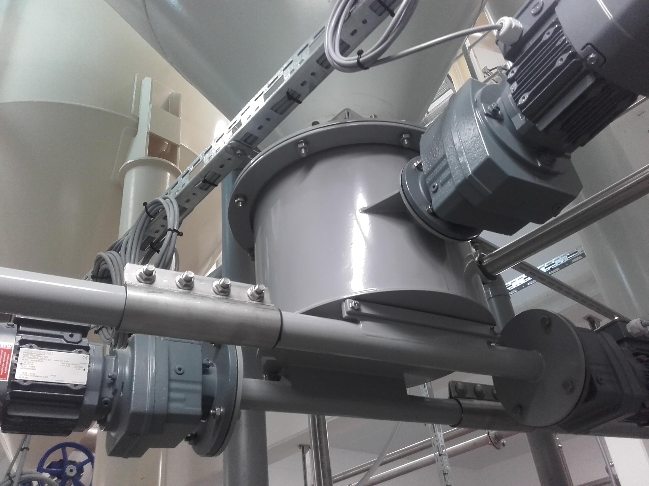 Equipment zum Ansetzen von Sodalösung