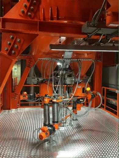 Eco-center, Pulveraktivkohle - Neue Anlage mit zwei Austrags- und Dosiergeräten